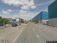112 melding Politie naar Gustoweg in Rotterdam vanwege ongeval met letsel