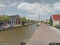 Ambulance en brandweer naar Vliet in Franeker