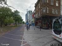 112 melding Ambulance naar Mauritsweg in Rotterdam