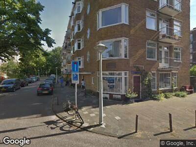Ambulance naar Lanseloetstraat in Amsterdam