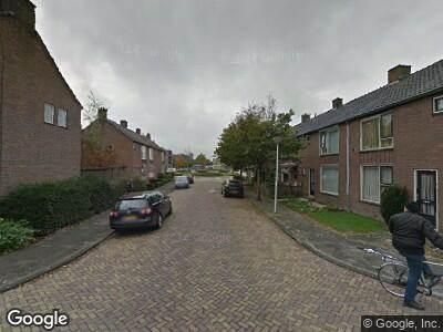 Ambulance naar Adam van Vianenstraat in Schoonhoven