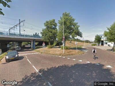 Ambulance naar Haarlemmerweg in Leiden