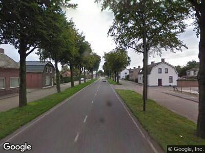 Ambulance naar Wernhoutseweg in Wernhout