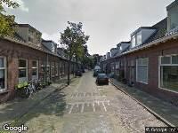112 melding Ambulance en brandweer naar Hieronymus van Alphenstraat in Haarlem vanwege brand