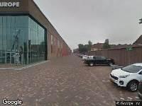 Brandweer naar Scheepsbouwweg in Rotterdam vanwege verkeersongeval