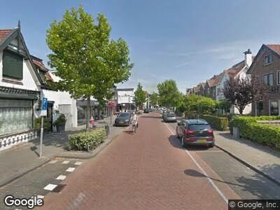 Ambulance naar De Kempenaerstraat in Oegstgeest