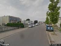112 melding Ambulance naar Avignonlaan in Eindhoven vanwege brand