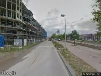 112 melding Brandweer naar Grauwaartsingel in Utrecht vanwege afgaan automatisch brandalarm
