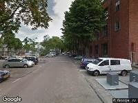 112 melding Ambulance naar Heiman Dullaertplein in Rotterdam