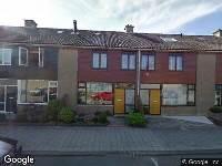 112 melding Brandweer naar Postpaertstraat in Hoek van Holland