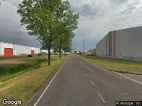 112 melding Brandweer naar Cacaoweg in Amsterdam vanwege brand