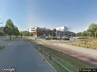 112 melding Brandweer naar Albinusdreef in Leiden