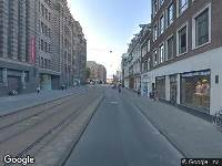 112 melding Brandweer naar Vijzelstraat in Amsterdam vanwege brand