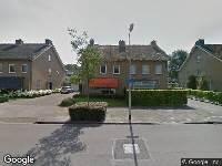 Ambulance naar Burgemeester Vissersstraat in Tilburg