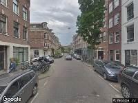 Brandweer naar Swammerdamstraat in Amsterdam