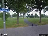 112 melding Ambulance naar Aureliapad in Hoogvliet Rotterdam