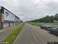 112 melding Ambulance en brandweer naar Haarlemmerstraatweg in Halfweg vanwege brand