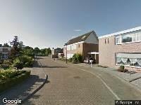 112 melding Ambulance naar Lucas van Leydenstraat in Dongen