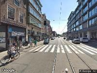Traumahelikopter naar Kerkstraat in Amsterdam
