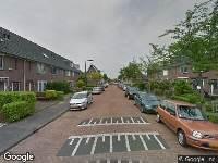 112 melding Ambulance naar Piet Zwartstraat in Rotterdam