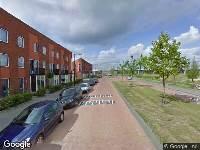 112 melding Ambulance naar Laan van het Surrealisme in Rotterdam
