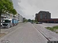 Politie naar Marthalaan in Hoogvliet Rotterdam