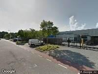 112 melding Brandweer naar Hudsondreef in Utrecht vanwege gebouwbrand
