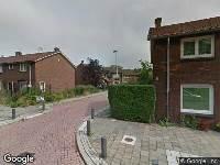 112 melding Brandweer naar Hoveniersstraat in Utrecht vanwege een buitenbrand
