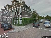 112 melding Brandweer naar Thorbeckestraat in Leiden vanwege waarnemen gaslucht