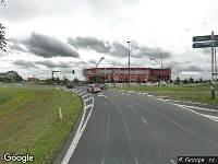 112 melding Ambulance naar Verkeersplein Kooimeer in Alkmaar vanwege verkeersongeval