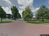Brandweer naar Zadelmakersstraat in Sneek vanwege brand