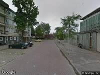 112 melding Brandweer naar Droppingsstraat in Leeuwarden vanwege brand