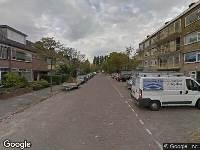112 melding Ambulance naar Spaarnestraat in Leiden