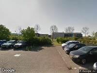 112 melding Politie naar Galvaniweg in Zwolle vanwege letsel