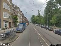 Ambulance naar Oosterpark in Amsterdam
