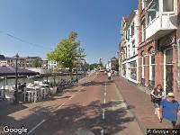 Ambulance naar Turfmarkt in Leiden