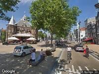 112 melding Besteld ambulance vervoer naar Nieuwmarkt in Amsterdam