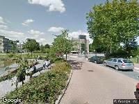 112 melding Politie naar Dokter van Heesweg in Zwolle vanwege beknelling