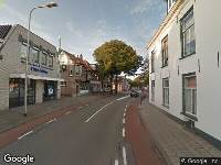 112 melding Brandweer naar Rijnstraat in Katwijk vanwege ongeval met letsel