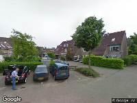 Ambulance naar Viscontistrook in Zoetermeer