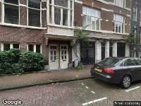 Ambulance naar Reyer Anslostraat in Amsterdam