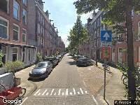 Ambulance naar Pieter Langendijkstraat in Amsterdam