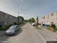 112 melding Brandweer naar Venkelstraat in Almere