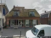 Brandweer naar Dorpsstraat in Bleskensgraaf