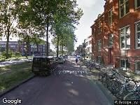 Ambulance naar Westergracht in Haarlem vanwege verkeersongeval
