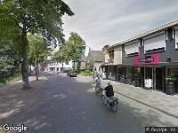 Brandweer naar Kerkstraat in Reusel