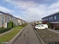 Politie naar Piranesistraat in Almere vanwege steekincident