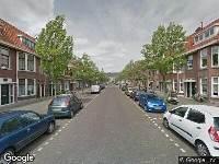112 melding Brandweer naar Vondellaan in Schiedam