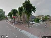 112 melding Brandweer en politie naar Dorpsstraat in Bemmel vanwege schoorsteenbrand