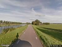 112 melding Ambulance naar Kanaaldijk in Wijdewormer